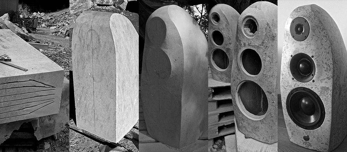 Anderson natural stone speakers