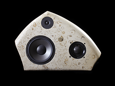 Three Way Limestone Speakers